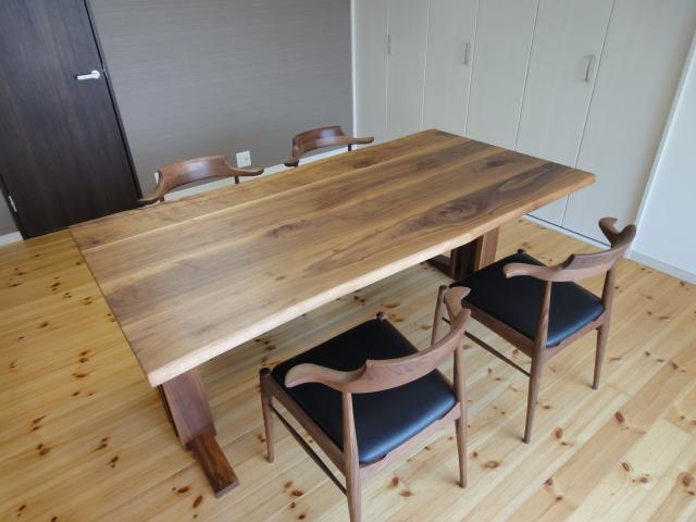 統一感あるBWのテーブルセット
