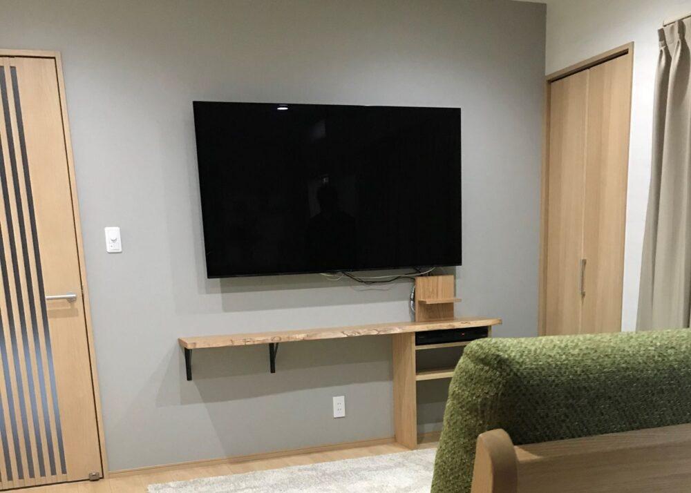 壁付けテレビボード